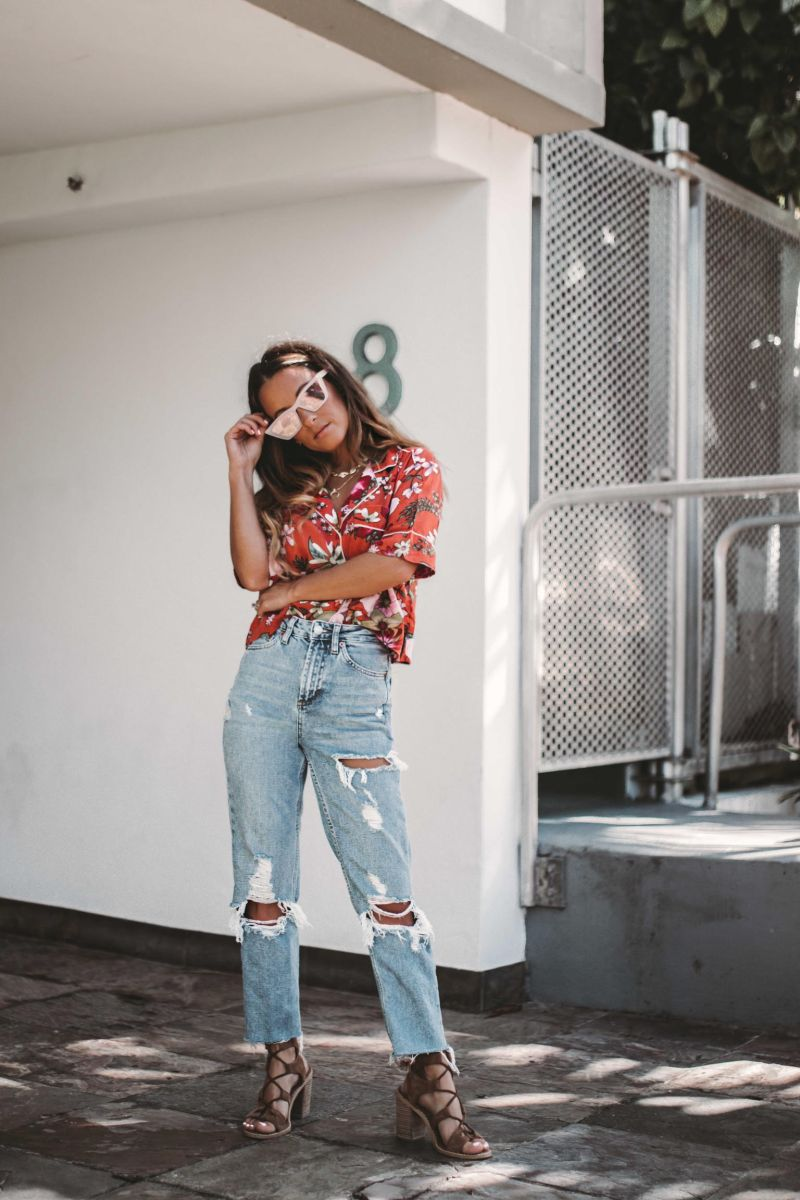 Summer of Diane X Topshop Carpe Denim New Years New Jeans Miami Style Blogger