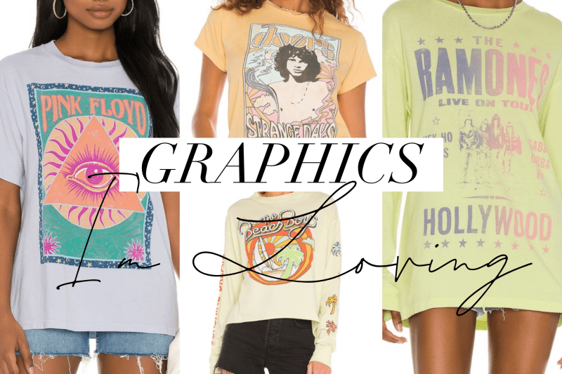 Summer of Diane Graphic Tee Roundup