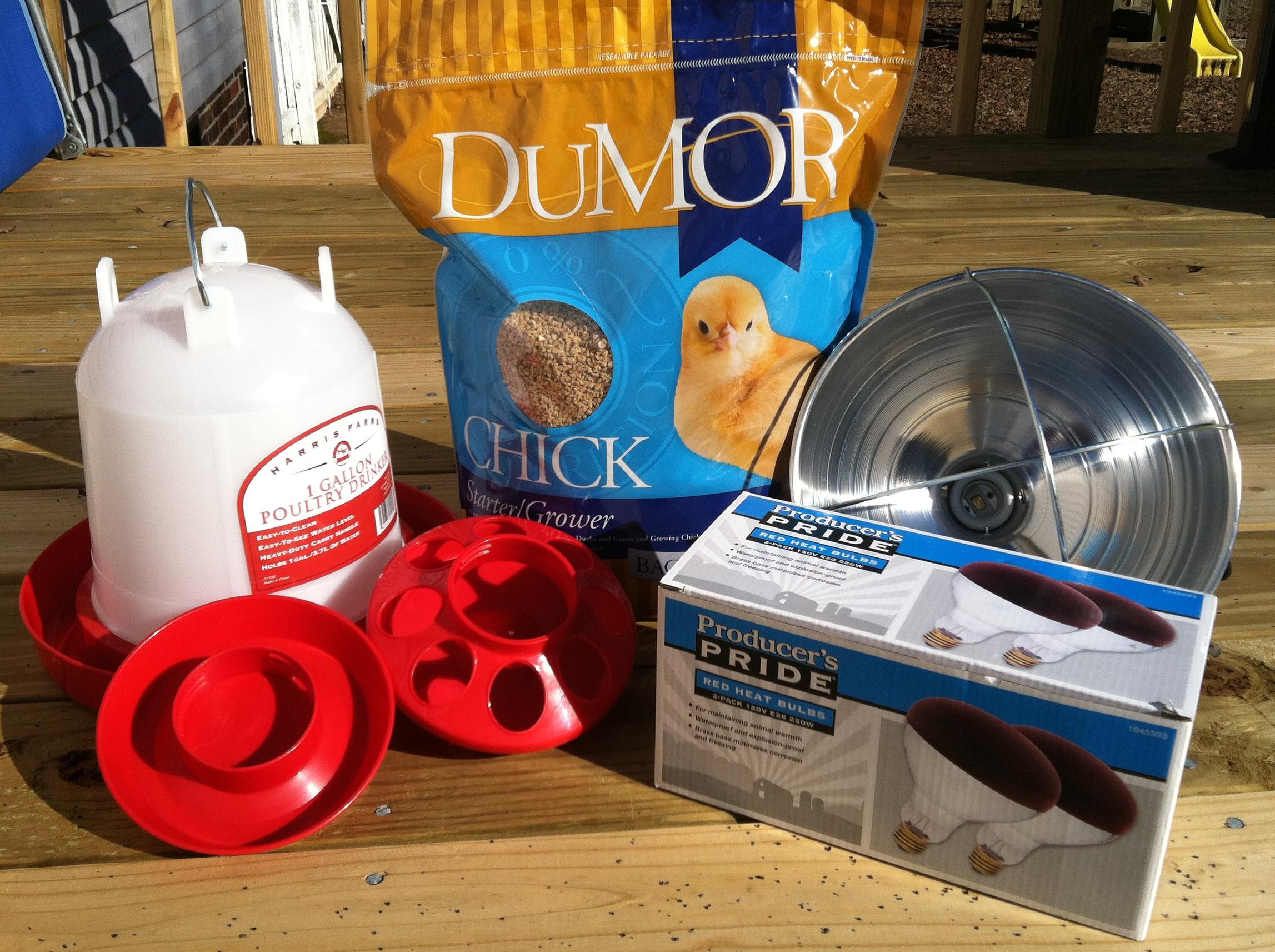 Chicken Waterer Heat Lamp Supplies Tractory Supply