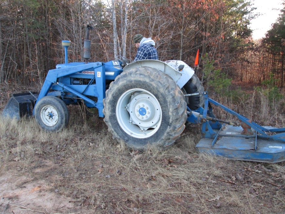 1975 Ford 4000 Tractor with Front End Loader