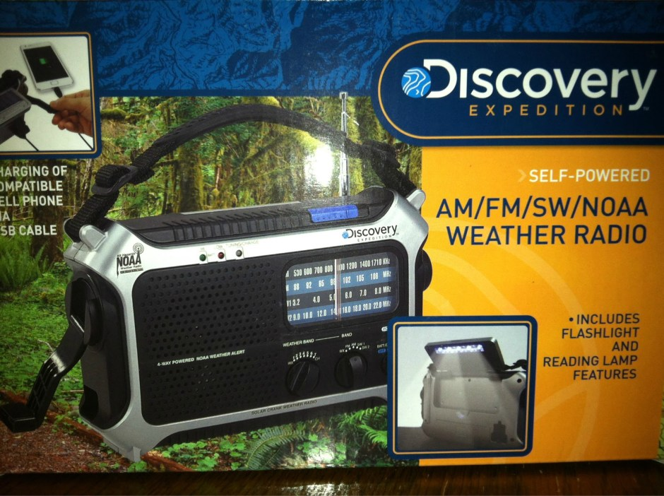 Handcrank Solar Powered Weather Radio