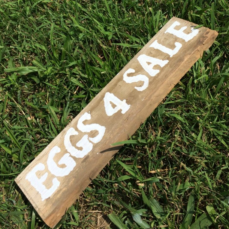 Eggs 4 Sale Market Sign from Reclaimed Wood