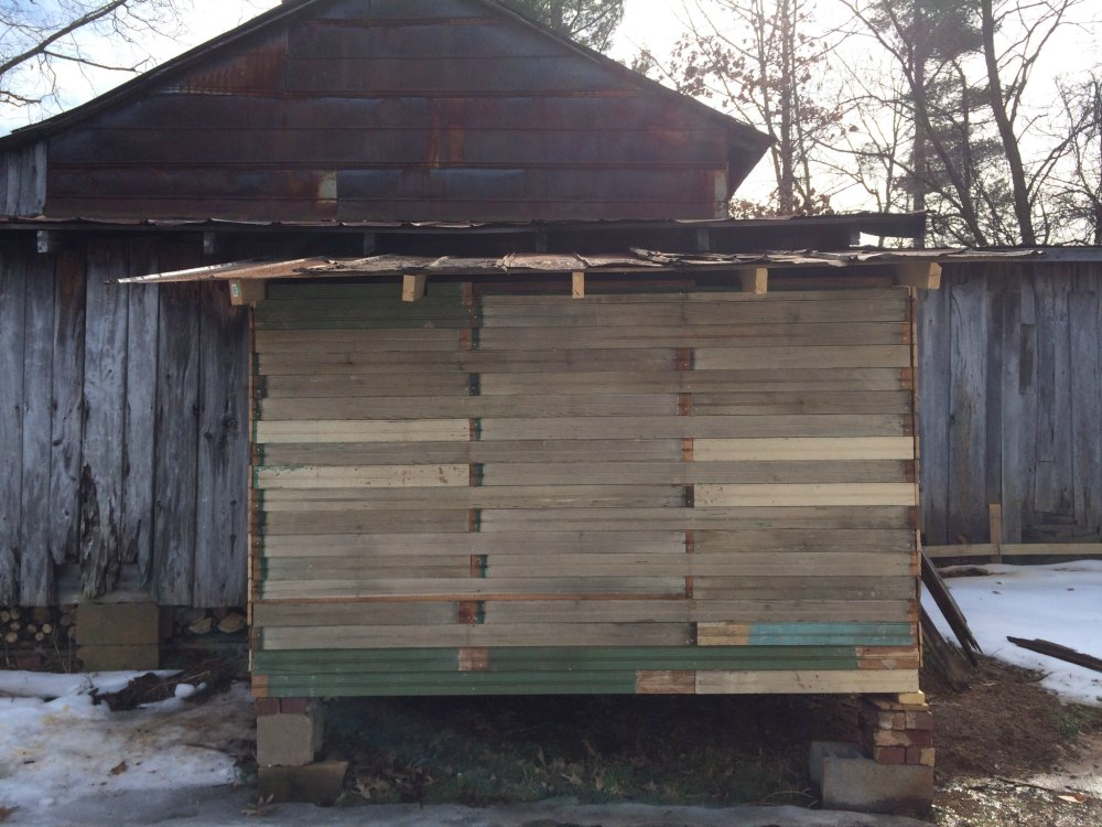 Rustic Chicken Coop Built With Scrap Tongue And Groove And Old Tin For The  Roof