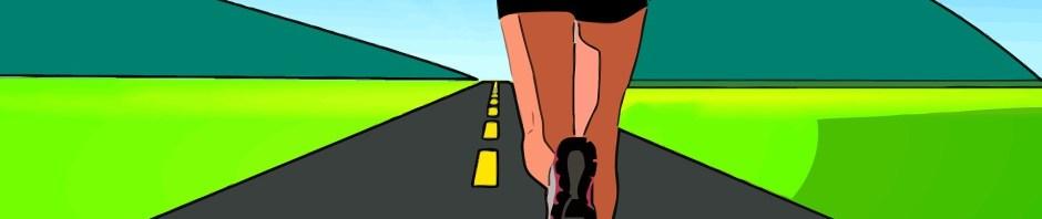 running the Christian walk