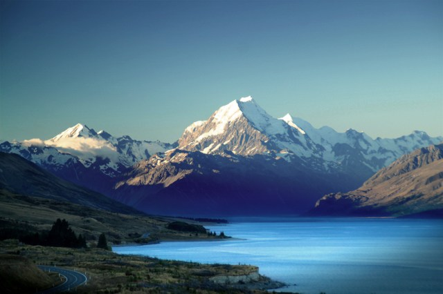 Mount Cook, Lake Pukaki, New Zealand