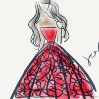 My Digital Art: My Prom Dress