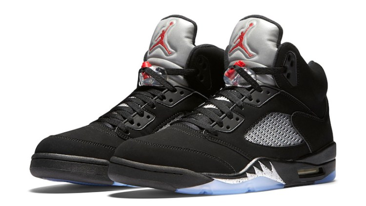 ce61e1b68f9b Air Jordan 5  Black Metallic  Dropped Saturday
