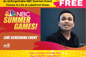 An Unforgettable NBC Summer Event Comes to Life at Lakefront Green