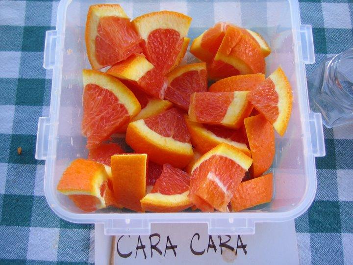 sliced cara cara oranges