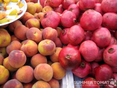 Peaches and Pomegranates
