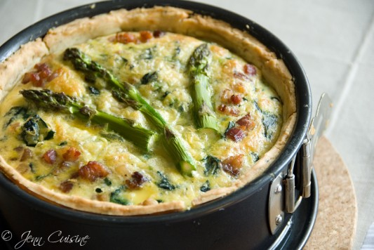 Springtime Quiche Recipe