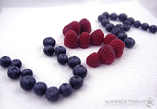 Blueberries & Raspberries