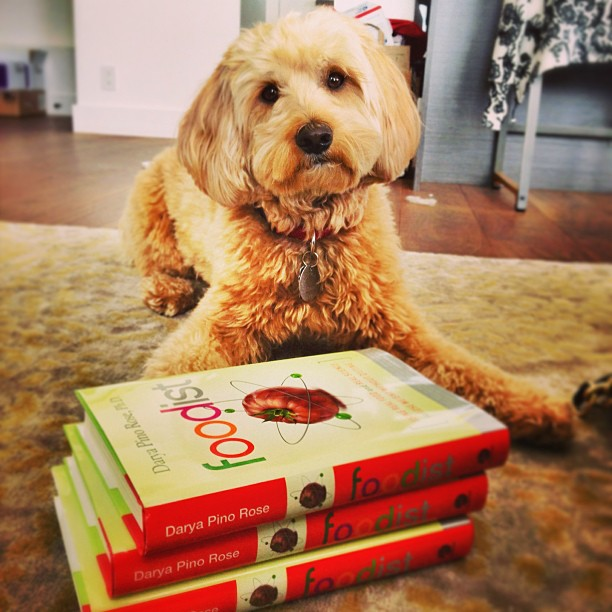 Post your hardcover copy of #foodist (w/hashtag) on Instagram now thru 5/14 for chance to win a personalized copy!