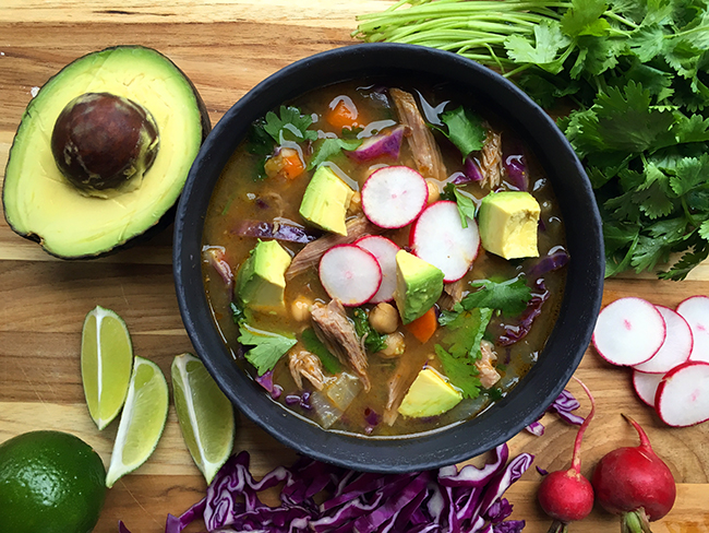 Pork Pozole Verde Soup