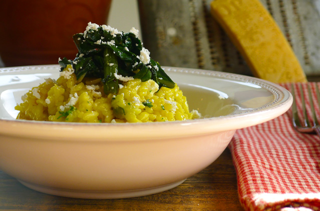 Golden Beet Risotto