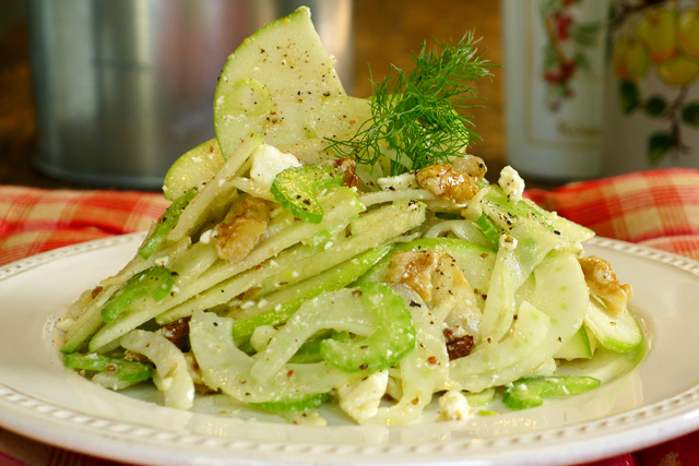 Fennel pear salad