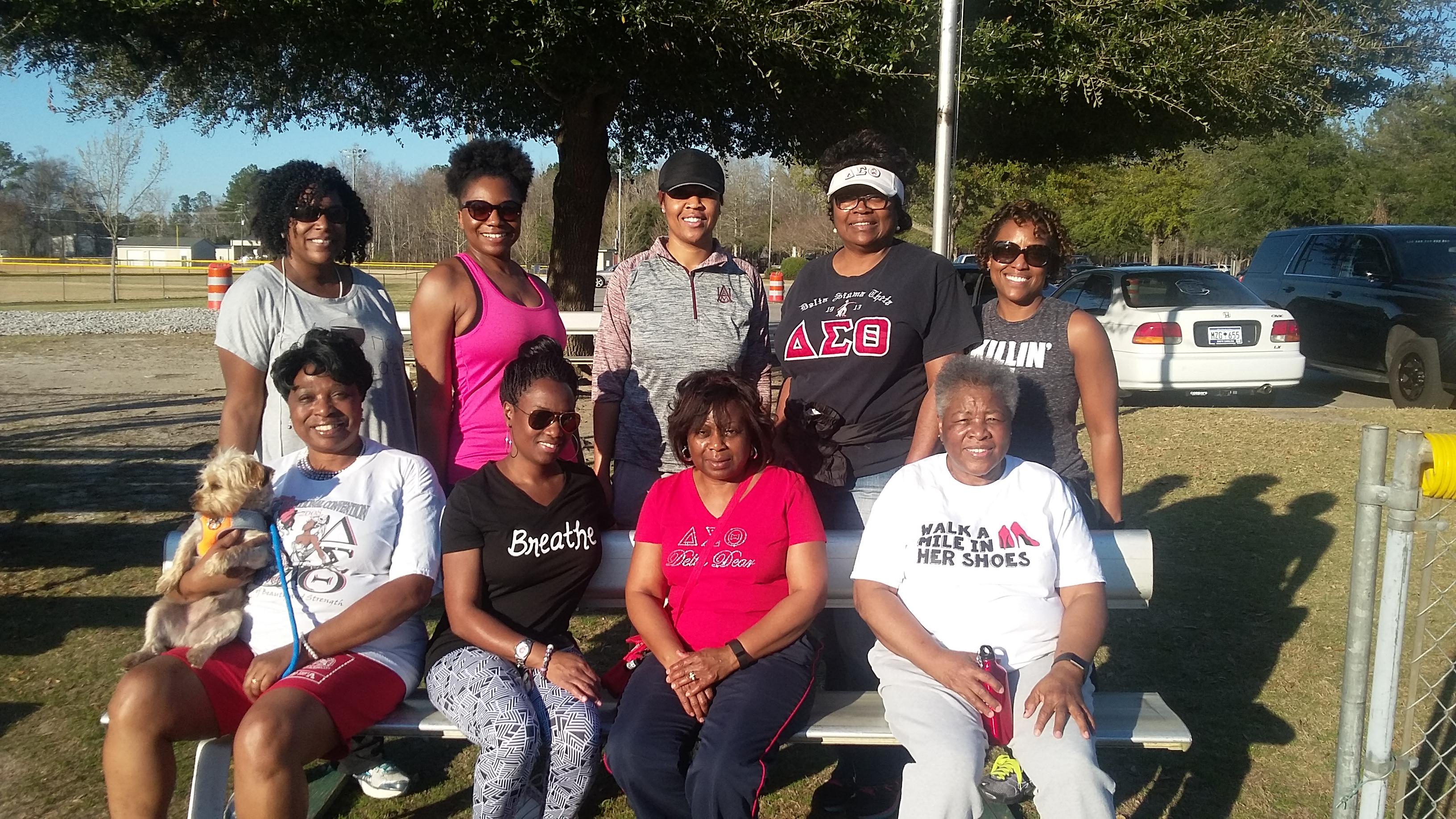 SAC Chapter Members Walk