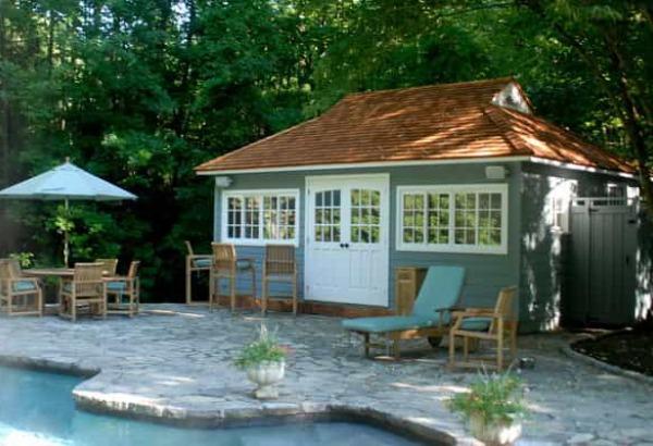 Modern And Classic Pool Cabana Kits