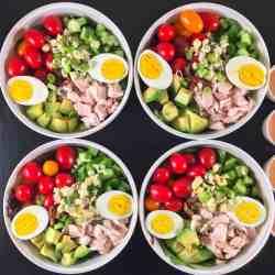 Best Cobb salad meal prep (square image)