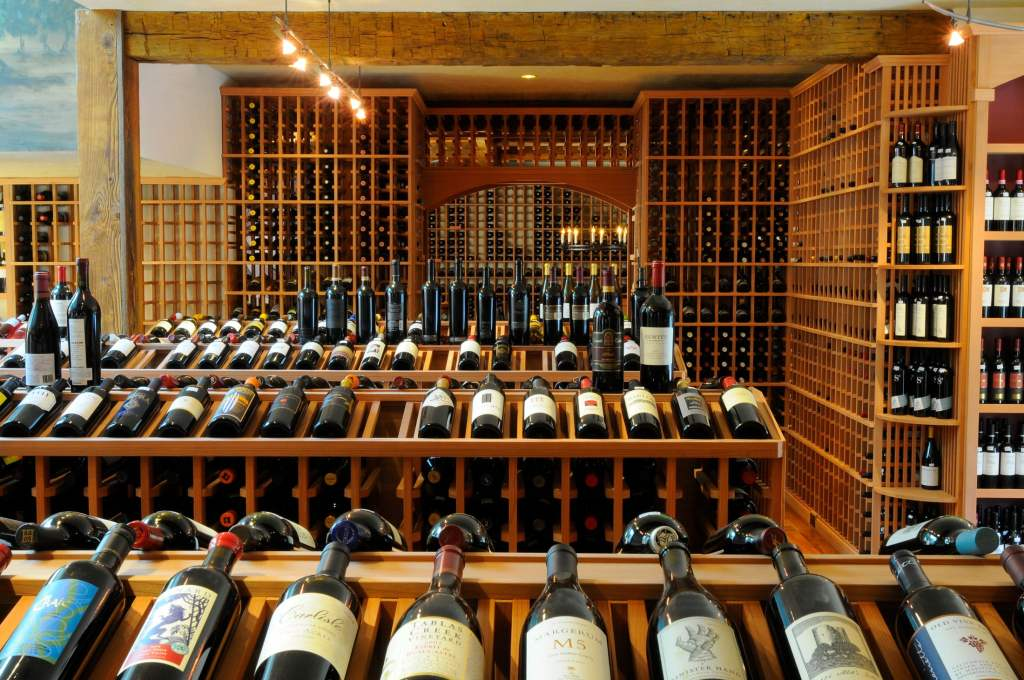 commercial wine cellar