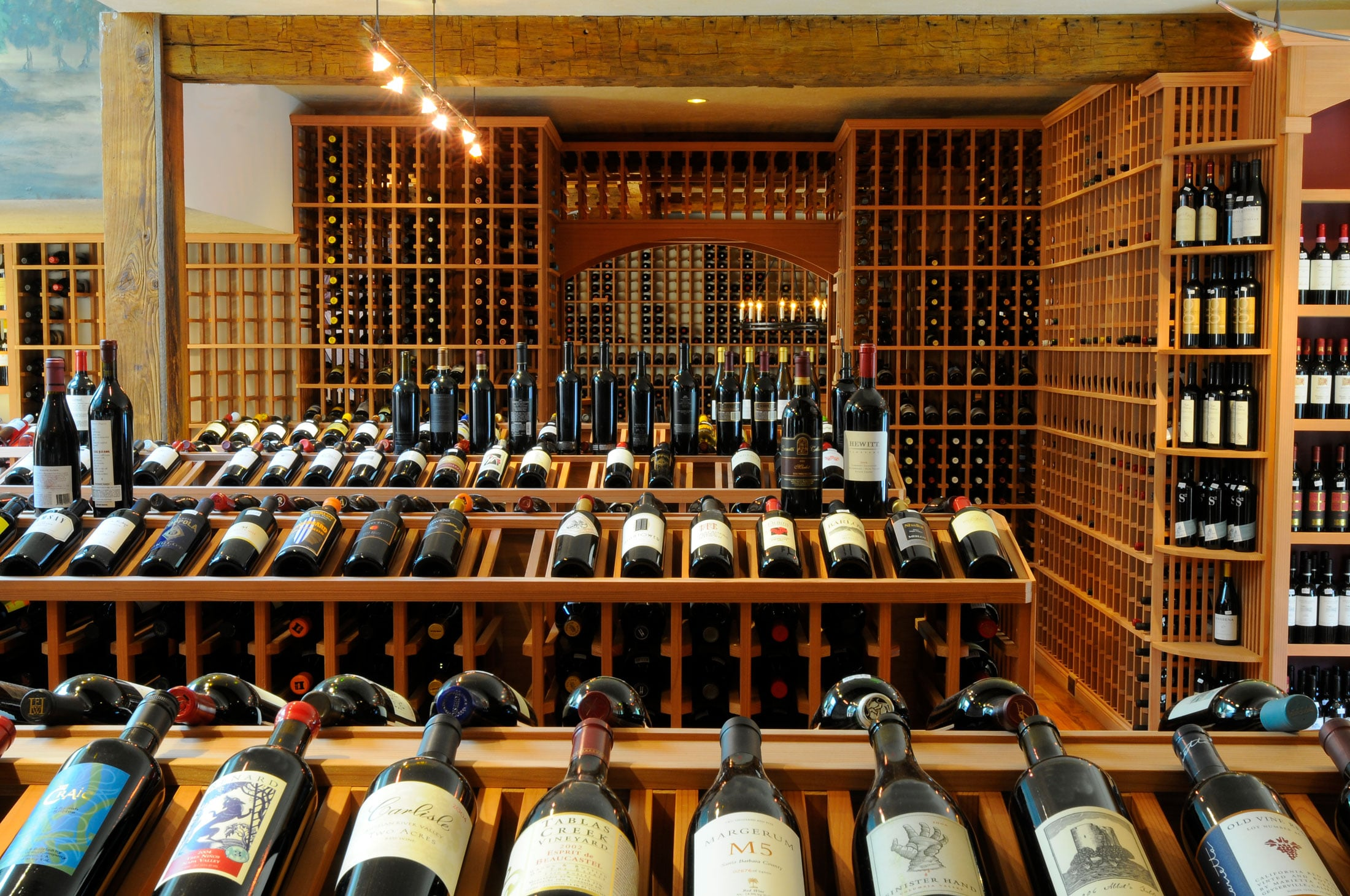 commercial wine cellar