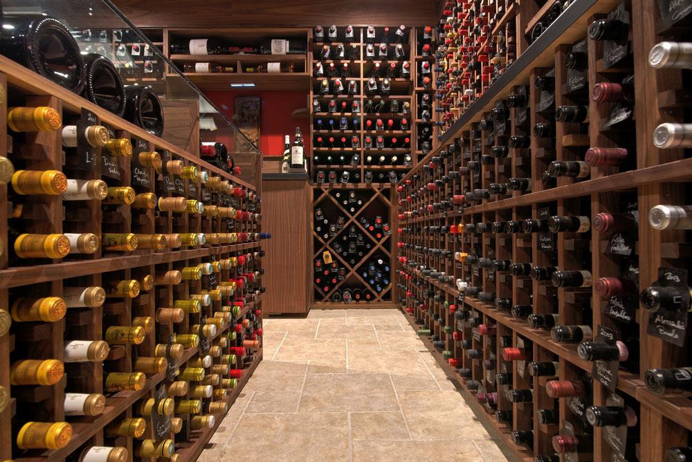 Craftsmanship - Traditional Custom Wine Cellar by Summit Wine Cellars