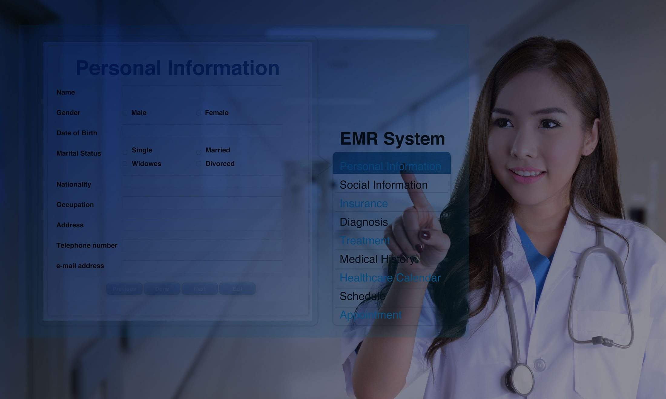 Physician Office EMR Integration-page-title-background