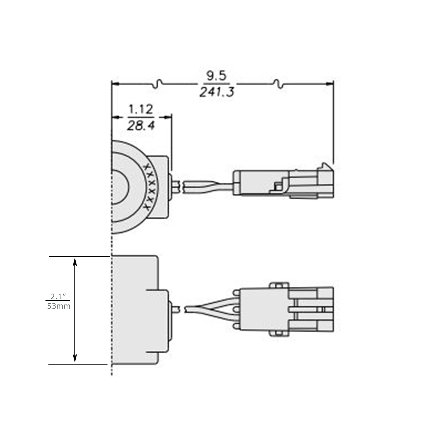 Hydraforce Size 10 5 8 Hole 24v Dc Solenoid Coil
