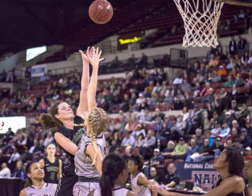 RMC women's basketball team competed at the NAIA national tournament, but ended up losing in the first round. Photos by Nicolas Cordero.