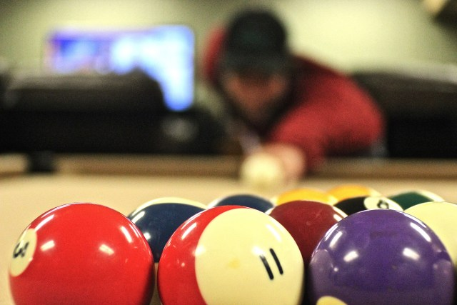 The Bair Student Center game room is a popular hangout for many students. Photo by Nicolas Cordero.
