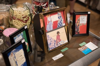"""""""Wear your invisible crown"""" included in a display by Ashley Kustka at the Senior art Show. Photo by Nicolas Cordero."""