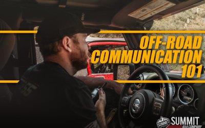 Off-Road Communication 101