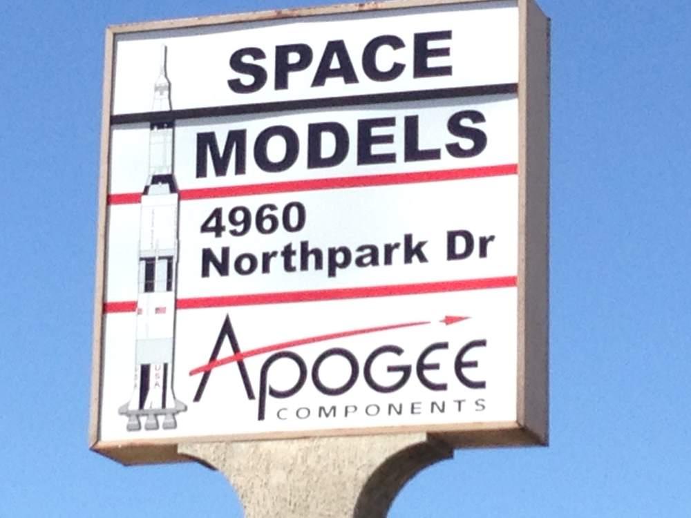 apogee rockets lexan sign - apogee-rockets-lexan-sign