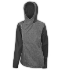 womens-summit-edge-jacket-woven-diagonal-zipper-full-zip-jacket-pockets-hood-gray-black-charcoal