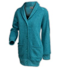 summit edge brand unisex womens north shore button cardigan jacket sage green pockets