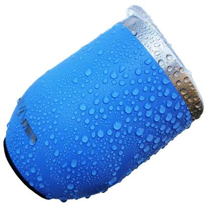 Magnetic Insulated Wine Tumbler with Lid Powder Coat Blue