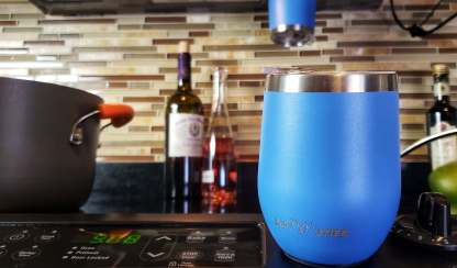 2 Magnetic Tumblers On Stovetop