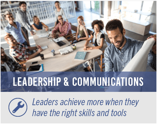 Leaders achieve more when they have the right skills and tools