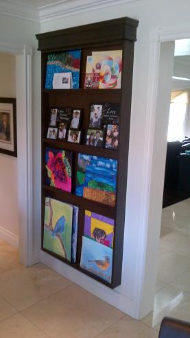 Custom Art Display