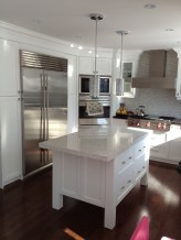 Custom white Kitchen