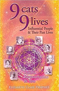 book cover: 9 cats 9 lives
