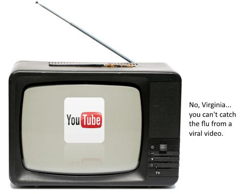 Youtube on the Boob Tube.