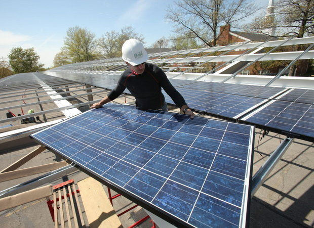 Solar energy, a sustainable solution