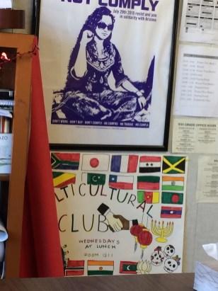 Cultural club poster