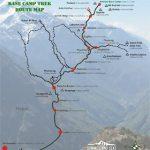 EBC Trek Route Map