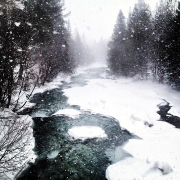 Tenmile Creek on the winter solstice.