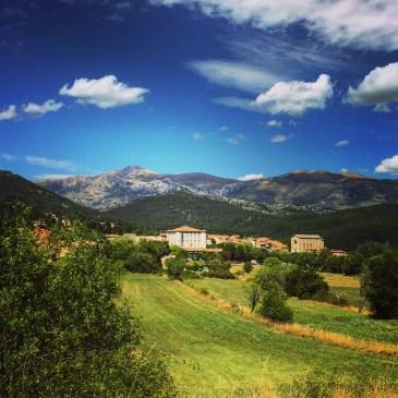 Countryside around Rougon, Gorge du Verdon region.