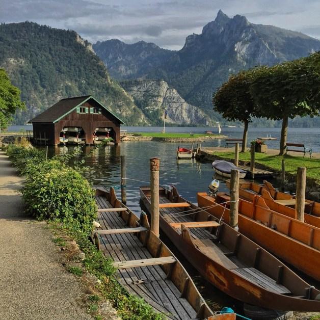 Das Bootshaus.