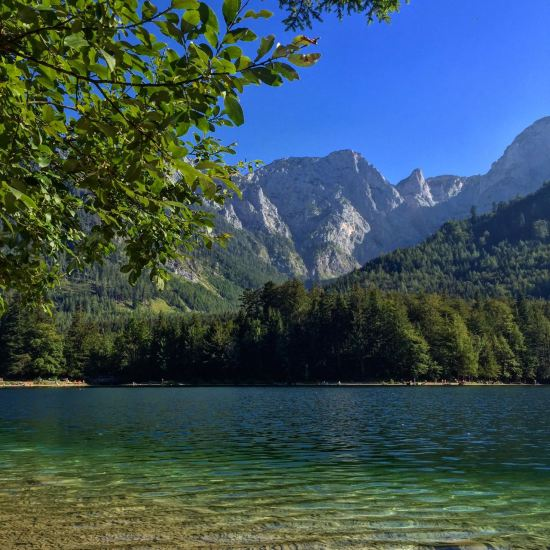 Langbathsee, Upper Austria.