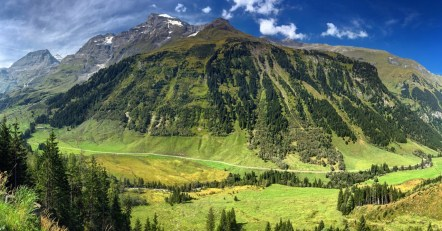 Along the Grossglocknerstrasse, in the Hohe Tauern National Park.